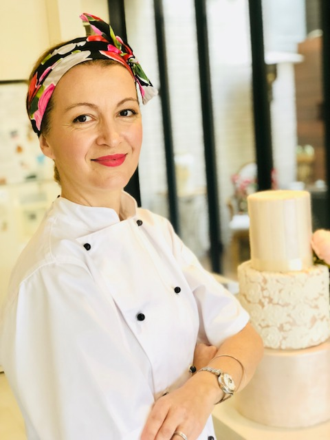 Chef Dusica Davidovic owner of CAKE ESTATE