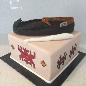 Traditional Shoe butter creme cake